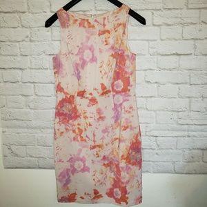 Ann Taylor Pastel Dress Size 6